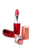 Two lipsticks Royalty Free Stock Photo