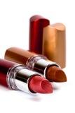 Two lipsticks Royalty Free Stock Photos