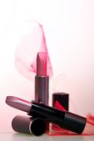 Two lipsticks Royalty Free Stock Photo