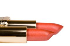 Two lipsticks Stock Image