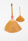 Two little brooms Royalty Free Stock Photos