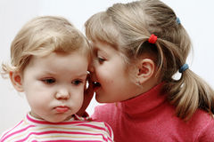 Two little children Royalty Free Stock Photos