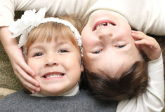 Two little girl Royalty Free Stock Photos