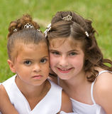 Two Little Girls Royalty Free Stock Photography