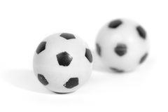 Two little plastic football Stock Photography