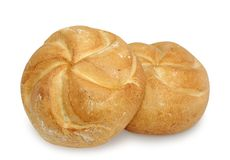 Two loafs Royalty Free Stock Photos