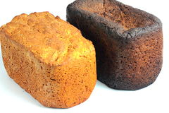 Two loaves of bread Royalty Free Stock Photo