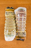Two Lobster Tails Stock Images