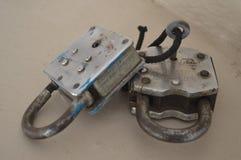 Two locks Stock Photos