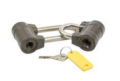 Two locks Royalty Free Stock Image