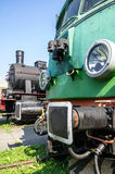 Two locomotives Royalty Free Stock Photography
