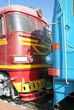 Two Locomotives Royalty Free Stock Images