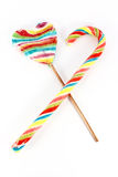 Two lollipops Royalty Free Stock Photography