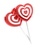 Two lollipops Stock Photography