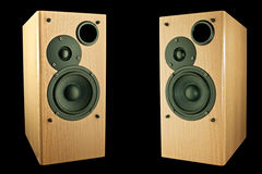 Two loudspeakers Royalty Free Stock Image