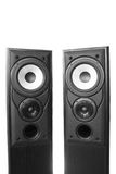 Two loudspeakers Royalty Free Stock Photo