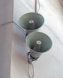 Two loudspeakers Royalty Free Stock Photography