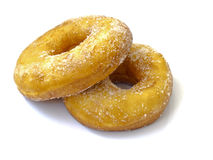Two lovely donuts Royalty Free Stock Images