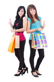 Two lovely womans Royalty Free Stock Images