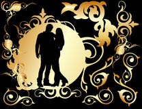 Two lovers Royalty Free Stock Image
