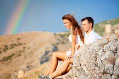 Two lovers Royalty Free Stock Photography