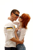 Two lovers. Love stock image
