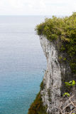 Two lovers point(cliff). In Guam Stock Photos