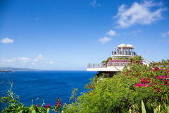 'Two lovers point' in Guam on clear day. Royalty Free Stock Images
