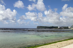 Two lovers point in Guam Stock Photography