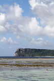 Two lovers point in Guam Royalty Free Stock Image