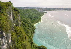Two Lovers Point View. A view from the top of Two Lovers Point in Tamuning, Guam Royalty Free Stock Photo
