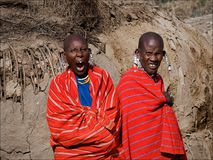 Two maasai women. Stock Photography