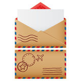Two mail icons Stock Photo