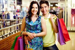 Two in mall Royalty Free Stock Photos