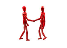 Two man shaking hands Royalty Free Stock Image