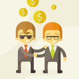Two man talking about business ,business Stock Photo