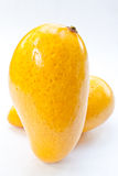 Two mango Royalty Free Stock Image