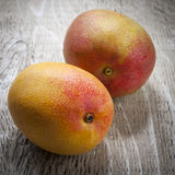 Two mangos Royalty Free Stock Photos