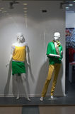 Two mannequin Royalty Free Stock Images