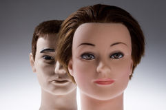 Two mannequins Royalty Free Stock Photo