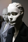 Two Mannequins In Jackets Royalty Free Stock Photography
