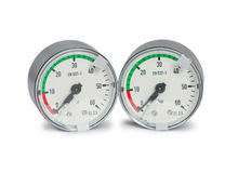 Two manometer Stock Photography