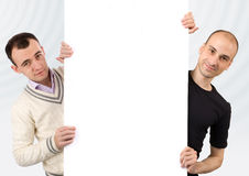 Two mans Stock Image