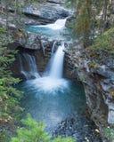 Johnstone Canyon Falls royalty free stock photography