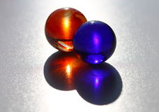Two Marbles Stock Photo
