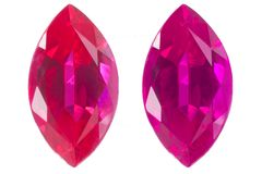 Two marquise isolated Stock Image