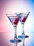 Two martinis Royalty Free Stock Image