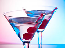 Two martinis Stock Images