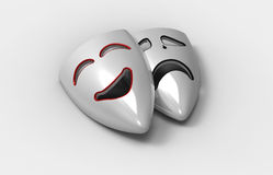 Two masks Royalty Free Stock Images