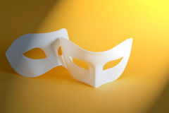 Two Masks Royalty Free Stock Photography